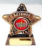 9.5cm Mini Star Scienza Trofeo Del Premio