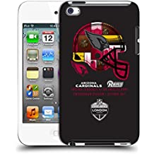 Official NFL Arizona Cardinals Helmet 2017 London Games Teams Hard Back Case for Apple iPod Touch 4G 4th Gen