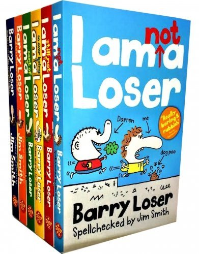 Barry Loser Collection 5 Books Set By Jim Smith (I am nit a Loser, I am Not a Loser; I am still not a Loser; I am so over being a Loser; I am sort of a Loser)