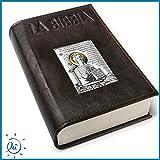 Scarica Libro Albalu Italia BIBBIA IN PELLE CON PLACCA PICCOLA MODELLO CRISTO CON ORO (PDF,EPUB,MOBI) Online Italiano Gratis