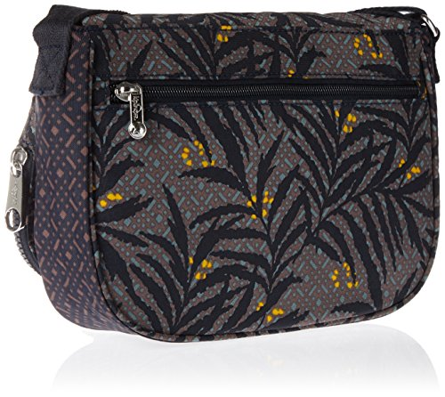 Kipling Damen Earthbeat S Umhängetasche, 26x17x7 cm Mehrfarbig (Tropic Bloom Bl)
