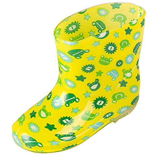 XFentech Babys Rain Boots Children Outdoor Quick-Drying Colorful Waterproof Shoes for Boys Girls