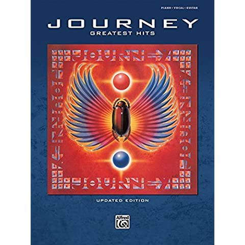 Greatest Hits: Piano/Vocal/Guitar by Journey (2010) Paperback