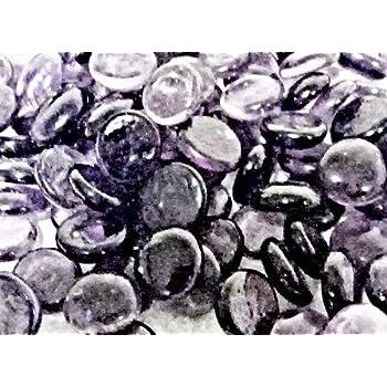 500g app 115 of Dark Blue Glass Pebbles//Stones//Gems//Nuggets //Beads 17-20mm
