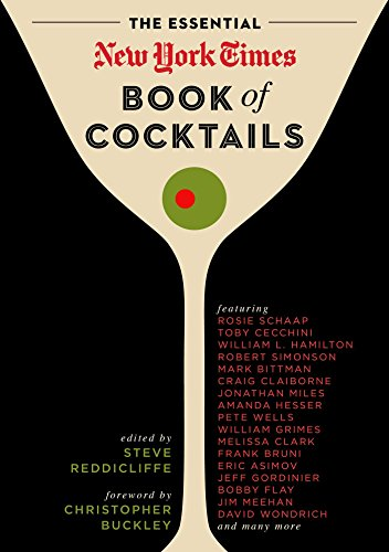 The Essential New York Times Book of Cocktails Manhattan Cocktail