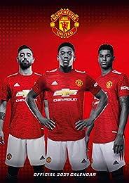 Manchester United FC 2021 Calendar - Official A3 Wall Format Calendar
