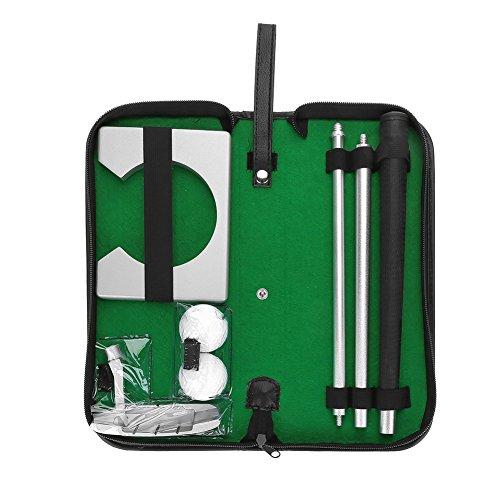 Dilwe Golf Putter Set Kit Golf Putting Ensemble Portable...