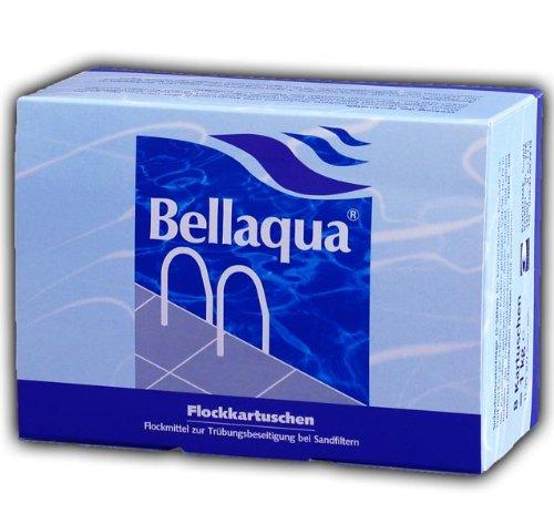 flockmittel pool 8x Flockkartusche Pool Schwimmbad Wasserpflege 1KG Flockmittel Bellaqua 749