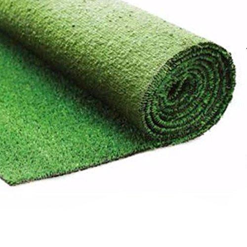 Evergreen prato sintetico erba sintetica 10mm fondo drenante verde calpestabile 2x10mt
