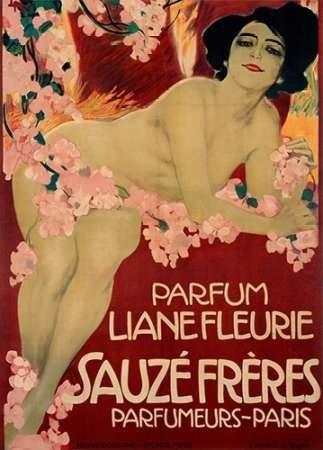 Feeling at Home Feelingathome-Leinwand-Bild-Parfum-Liane-Fleurie-/-Sauze-Freres-cm78x55-Kunstdruck-auf-Leinwand
