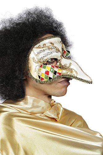 Kostüm Zubehör Venezianische Maske Venedig lange Nase (Kostüm Maske Lange Nase Venezianische)