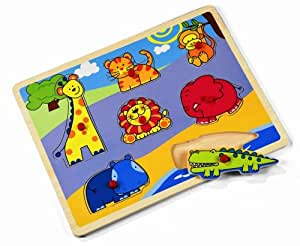 Janod - J05502 - Puzzles - First Puzzle Jungle