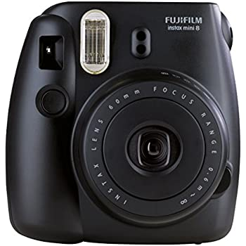 Fujifilm - Instax Mini 8 - Appareil photo à Impression Instantanée - Noir