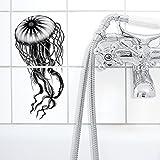 Boubouki Wasserabweisende Fliesenaufkleber Jelly (Poster) für Bad und Küche | 15 x 15 cm, Opaque