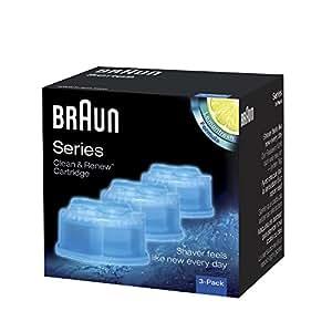 Braun Clean&Renew CCR Reinigungskartusche (3er pack)