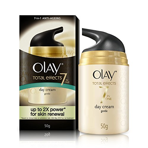 Olay Total Effects 7-in-1 Anti Aging Skin Day Cream Gentle, 50g