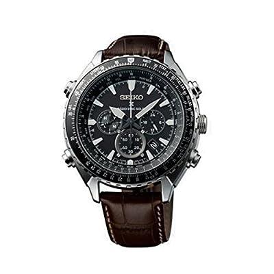 Seiko SSG005P1 - Reloj de pulsera para hombre (cronógrafo, movimiento de cuarzo, acero inoxidable)