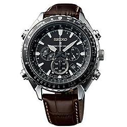 Seiko SSG001P1 Men's Watch Chronograph Quartz Leather SSG005P1