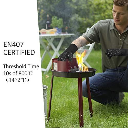 Zoom IMG-3 dinoka guanti grigliati da forno