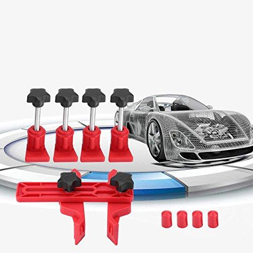 Qiilu Auto Moteur De Voiture Timing Verrouillage Outil Double Cam Clamp Camshaft Pignon Kit D'engrenages Universel