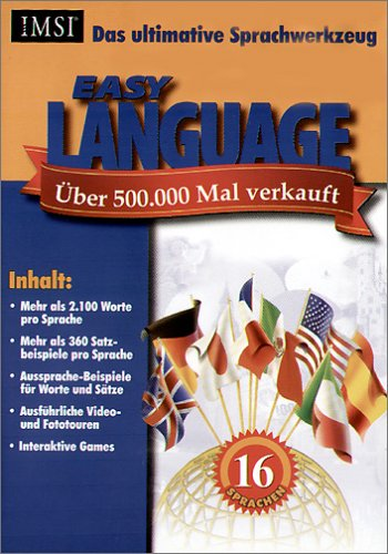 Easy Language 16. CD-ROM für Windows (Englisch-griechisch Sprachführer)