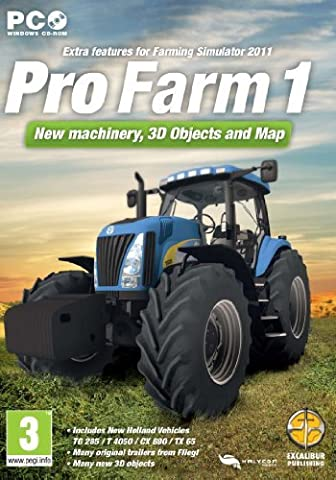 Pro Farm 1 - Add-on for Farming Simulator 2011 (PC) [UK IMPORT] by Unknown