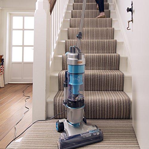 Vax U85-AS-Pe Air Stretch Pet Multi-Function Vacuum Cleaner, 1.5 L, 820 W – Silver/Blue