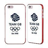 Official Team GB British Olympic Association EST Indigo Logo Red Fender Case for iPhone 6 Plus/iPhone 6s Plus