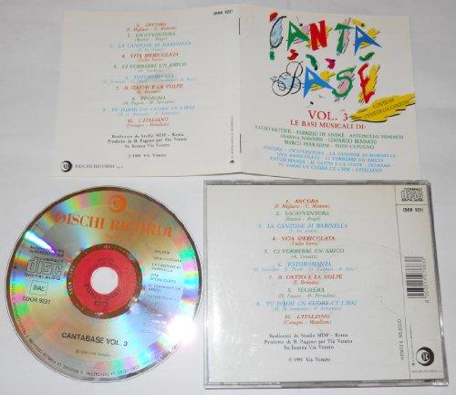 Canta Base Volume 3 Le basi musicali di Battisti, De André, Venditti, Nannini, Bennato, Ferradini, Cutugno