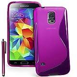 VCOMP-Shop S-Line - Cover in Silicone e TPU per Samsung Galaxy S4 Zoom