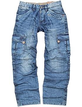 Timezone Herren Cargo Jeans Benito