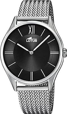 Reloj Lotus Hombre 18487/4 Malla Milanesa de Lotus