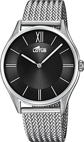 Lotus Minimalist 18487/4 Mens Wristwatch Design Highlight