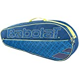 Babolat Club Line Classic Tennis Racquet Holder X3 Blue Yellow