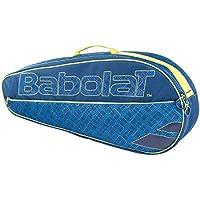 Babolat R Holder Essential Club Raquetero de Tenis, Unisex Adulto, Azul/Naranja, Talla Única