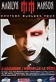 Marilyn Manson: Grotesk Burlesk Tour | original Promo Poster [ca. 80 x 120 cm]