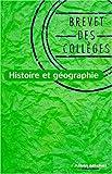 Histoire-Géographie, brevet des collèges