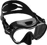 Cressi - Gafas de buceo, color negro
