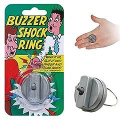 Idea Regalo - Hand buzzer - Anello-scossa - Scherzo/giocattolo - Buzzer shock ring