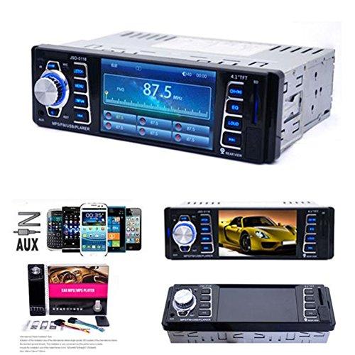 Yukong 4.1 Zoll HD TFT Großbildschirm Farbe LCD Funktion + Im Schlag Auto MP5 Spieler + USB / TF MP3 Stereo Audioempfänger Bluetooth FM Radio