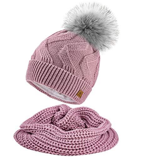 info for ad54e f7dda ᐅ】schal mütze handschuhe set damen rosa Test, Vergleich ...
