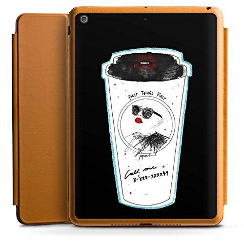 d Air Smart Case karamell Hülle mit Ständer Schutzhülle Coffee Kaffee Becher ()