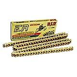 DID Kette 520 ERV3, 120 Glieder (X-Ring gold), offen mit Nietschloss