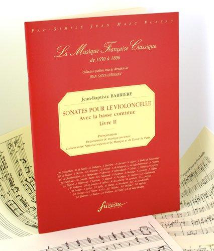 Sonates pour le violoncelle avec la basse continue...