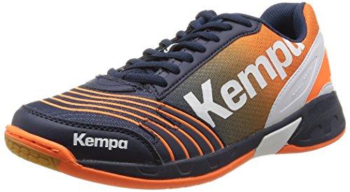 Kempa  Attack Three,  Scarpe da pallamano uomo Azul (marine/orange/blanc)
