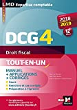 dcg 4 droit fiscal manuel et applications 2018 2019 12e ?dition pr?paration compl?te