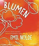 Blumen: Bastle dein eigenes Mobile. Inspiriert von Emil Nolde