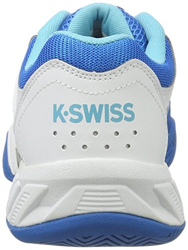 K-Swiss Damen Ks Bigshot Light 2.5 Sneaker Weiß (White/BLUEASTER/BACHELORBUTTON)