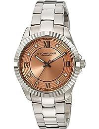 Stührling Original 399L.221153 - Reloj analógico para mujer, correa de acero inoxidable, color plateado