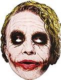 Batman - Joker, máscara de disfraz, talla única ( Rubie'S Spain 36671)